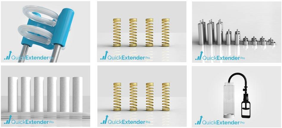 quick extender pro spare parts
